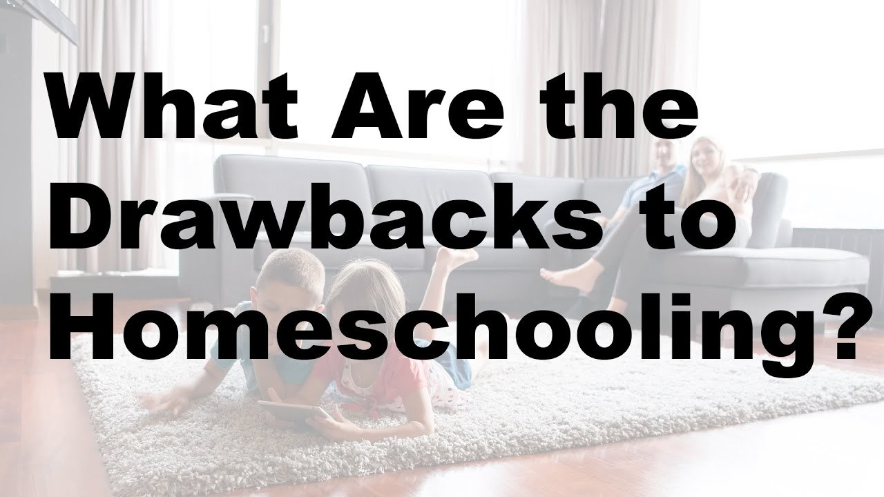 What Are the Drawbacks to Homeschooling?