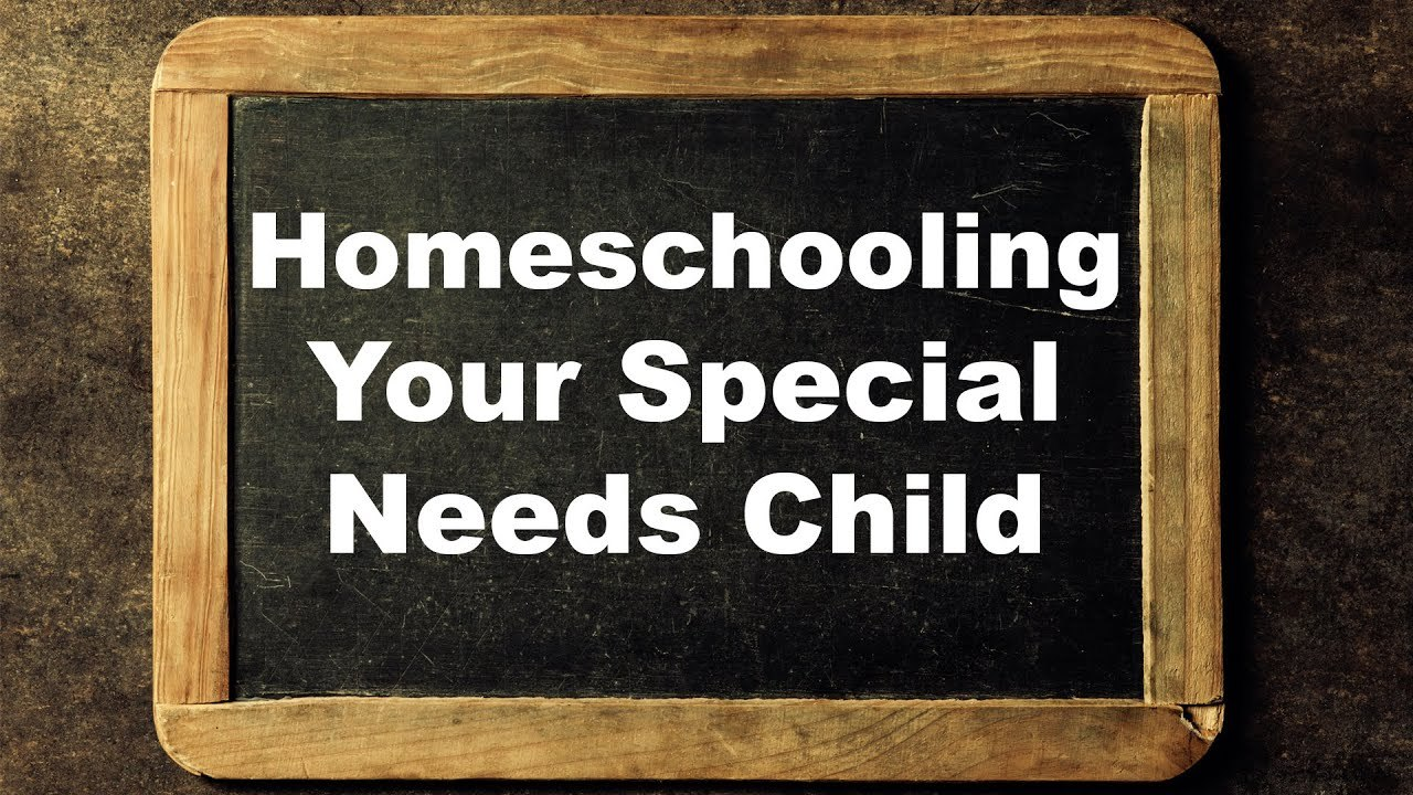 Homeschooling Your Special Needs Child